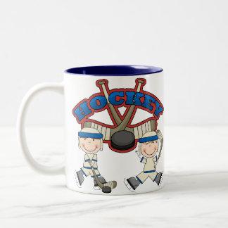 Hockey Boys Two-Tone Coffee Mug