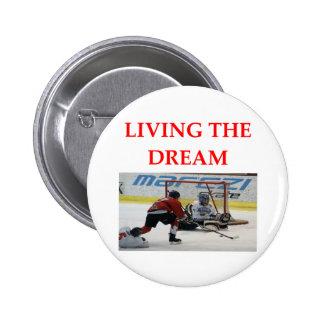 hockey button