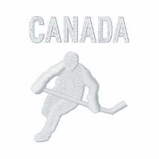 Hockey Canada  Customizable Country Sports Embroidered Jacket