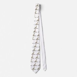 Hockey Cat Pissed Neck Tie