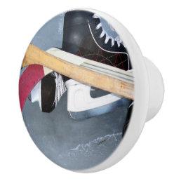 Hockey Ceramic Knob