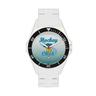Hockey Chick #3 Wrist Watches