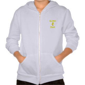 Hockey Chick Hooded Pullover