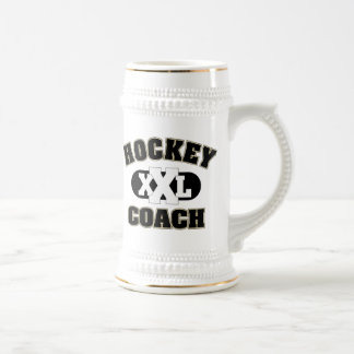 Hockey Coach 18 Oz Beer Stein