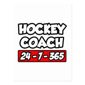 Hockey Coach 24-7-365 Postcard