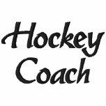 Hockey Coach Embroidered Shirt