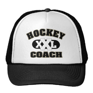 Hockey Coach Trucker Hat