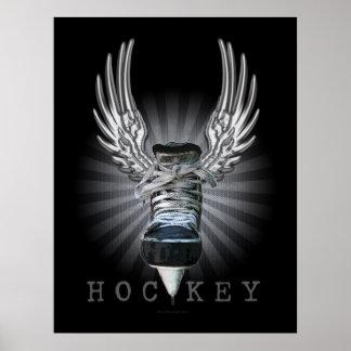 Hockey con alas poster