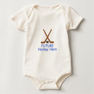 HOCKEY CREST BABY BODYSUIT