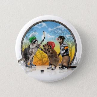 Hockey Critter Classic Button