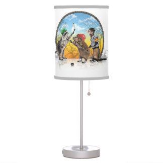 Hockey Critter Classic Desk Lamp
