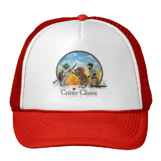 Hockey Critter Classic Trucker Hat