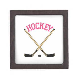 Hockey Cross Sticks Gift Box
