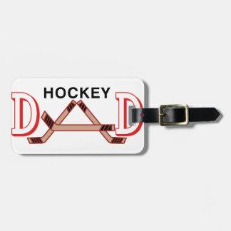 Hockey Dad Bag Tag