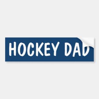 HOCKEY DAD BUMPER STICKER