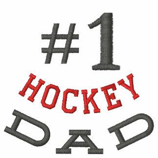 Hockey  Dad Embroidered Shirt