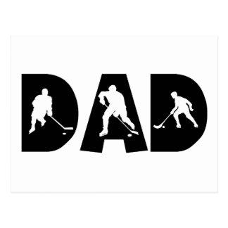 Hockey Dad Gift Postcard