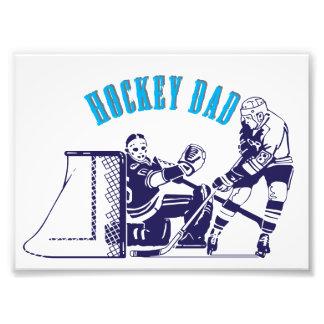 Hockey Dad Photo Print