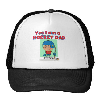 Hockey Dad T-shirts and Gifts Trucker Hat
