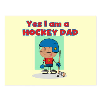 Hockey Dad T-shirts and Gifts Postcard