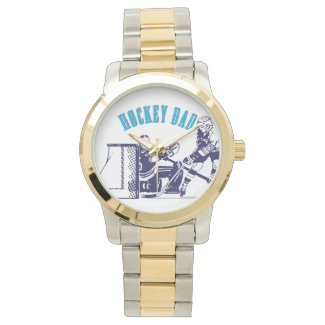 Hockey Dad Wristwatches