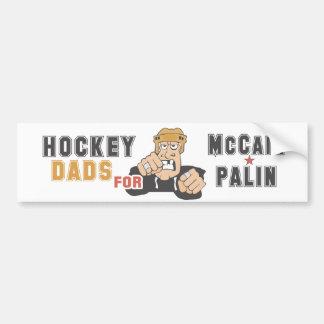 Hockey Dads for McCain Palin Bumper STicker