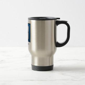Hockey de aluminio cepillado de la mirada tazas de café
