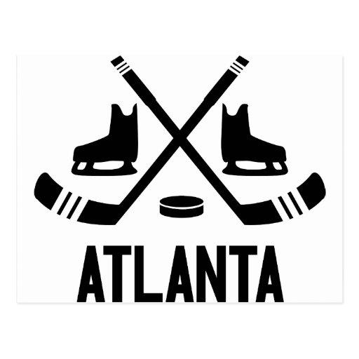 Hockey de Atlanta Postales