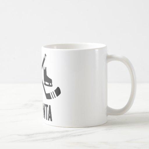 Hockey de Atlanta Tazas De Café