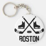 Hockey de Boston Llaveros