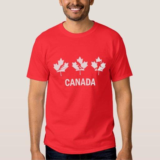 Hockey de CANADÁ Camisas