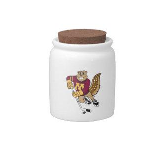 Hockey de Goldy Jarras Para Caramelos