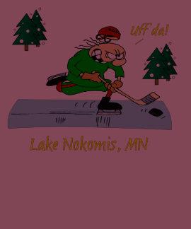 Hockey de la charca de Minnesota T Shirt