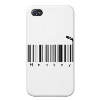 Hockey de la clave de barras iPhone 4/4S funda