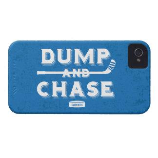 Hockey de la descarga y de la caza iPhone 4 carcasa