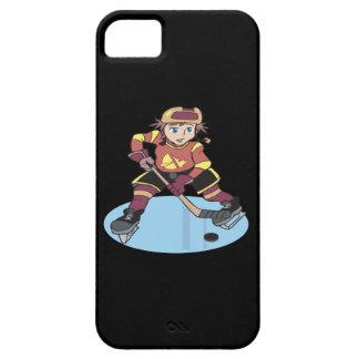 Hockey de la juventud iPhone 5 fundas