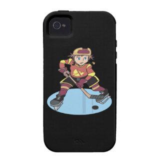 Hockey de la juventud vibe iPhone 4 fundas