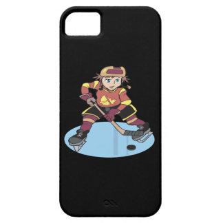 Hockey de la juventud iPhone 5 carcasa