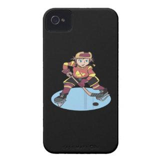 Hockey de la juventud iPhone 4 Case-Mate protector