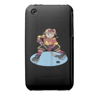 Hockey de la juventud iPhone 3 cárcasas