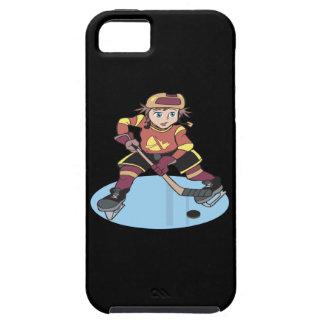 Hockey de la juventud funda para iPhone SE/5/5s