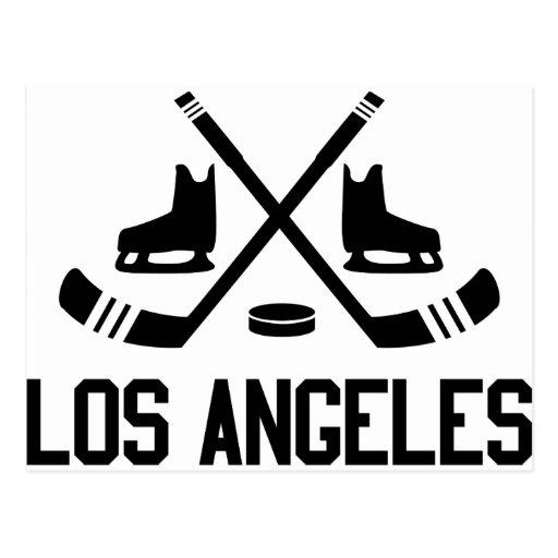 Hockey de Los Ángeles Postal