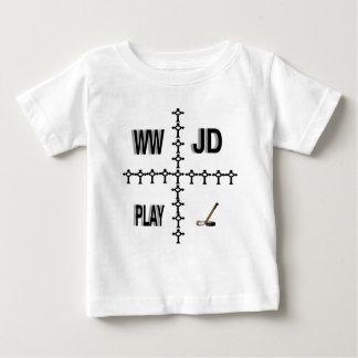Hockey de WWJD Camiseta