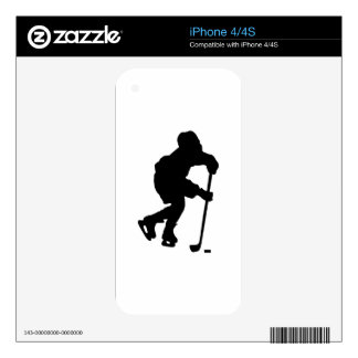 Hockey Decal For The iPhone 4S
