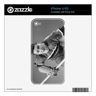 Hockey Defenseman Decals For iPhone 4