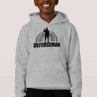Hockey Defenseman Hoodie