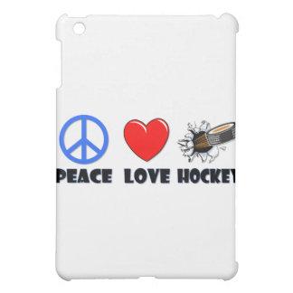 Hockey del amor de la paz