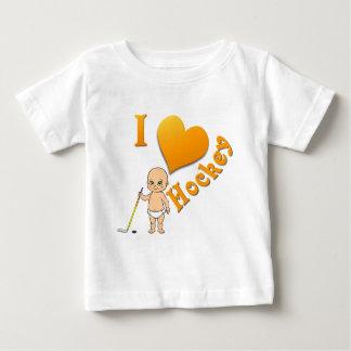 Hockey del amor del bebé I Playeras