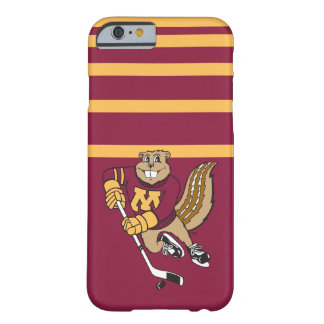 Hockey del Gopher de Goldy Funda Para iPhone 6 Barely There