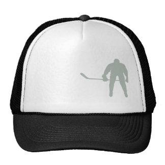 Hockey del gris de ceniza gorro